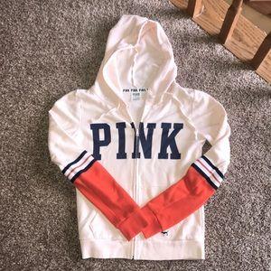 VS PINK Zip-up Hoodie XS